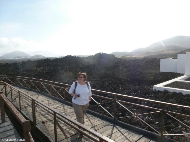 Diana vor Lavafeldern