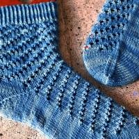 September-Socken – Kieler Wolle SockClub