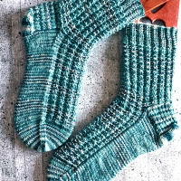 Socken mit Struktur - Meine erste Anleitung