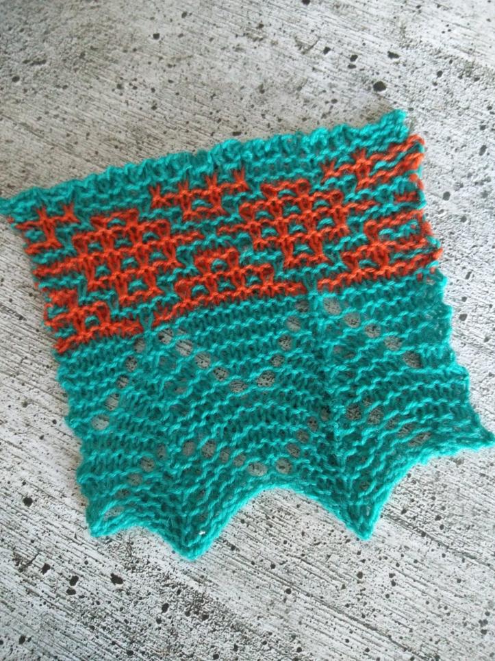 Mosaik Muster Stricken Steinbach 5