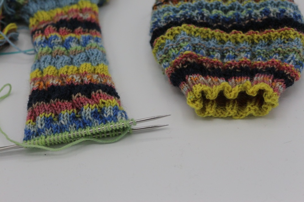 K Wave Spiralsocken (1)