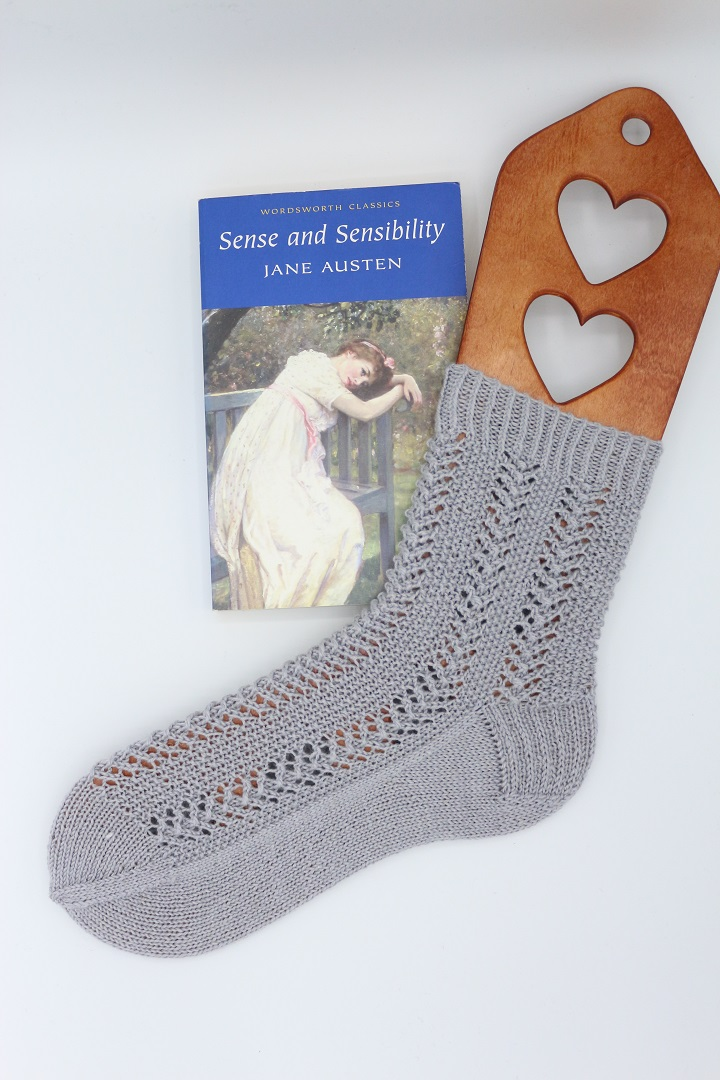 Gestrickte Socken Elinor Socks (1)