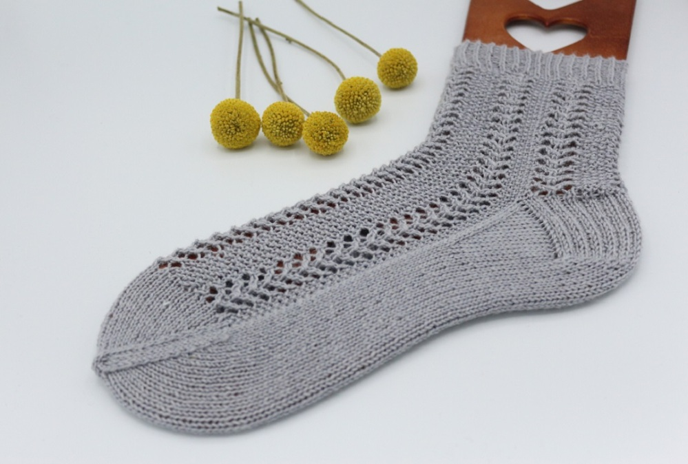 Gestrickte Socken Elinor Socks (10)