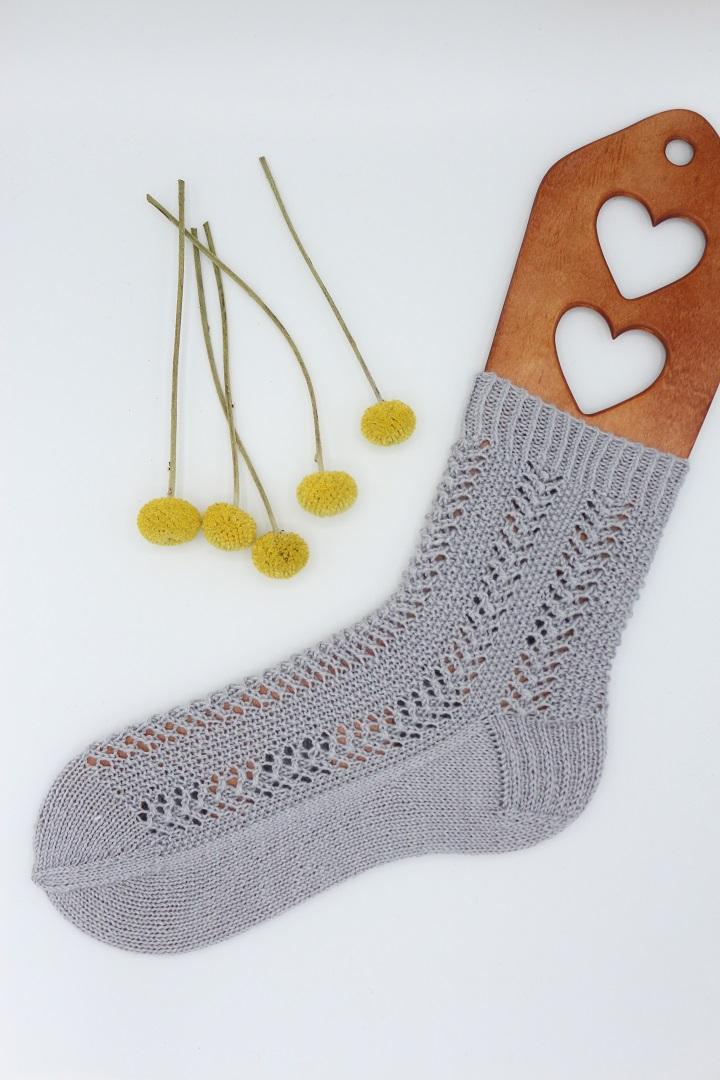 Gestrickte Socken Elinor Socks (11)
