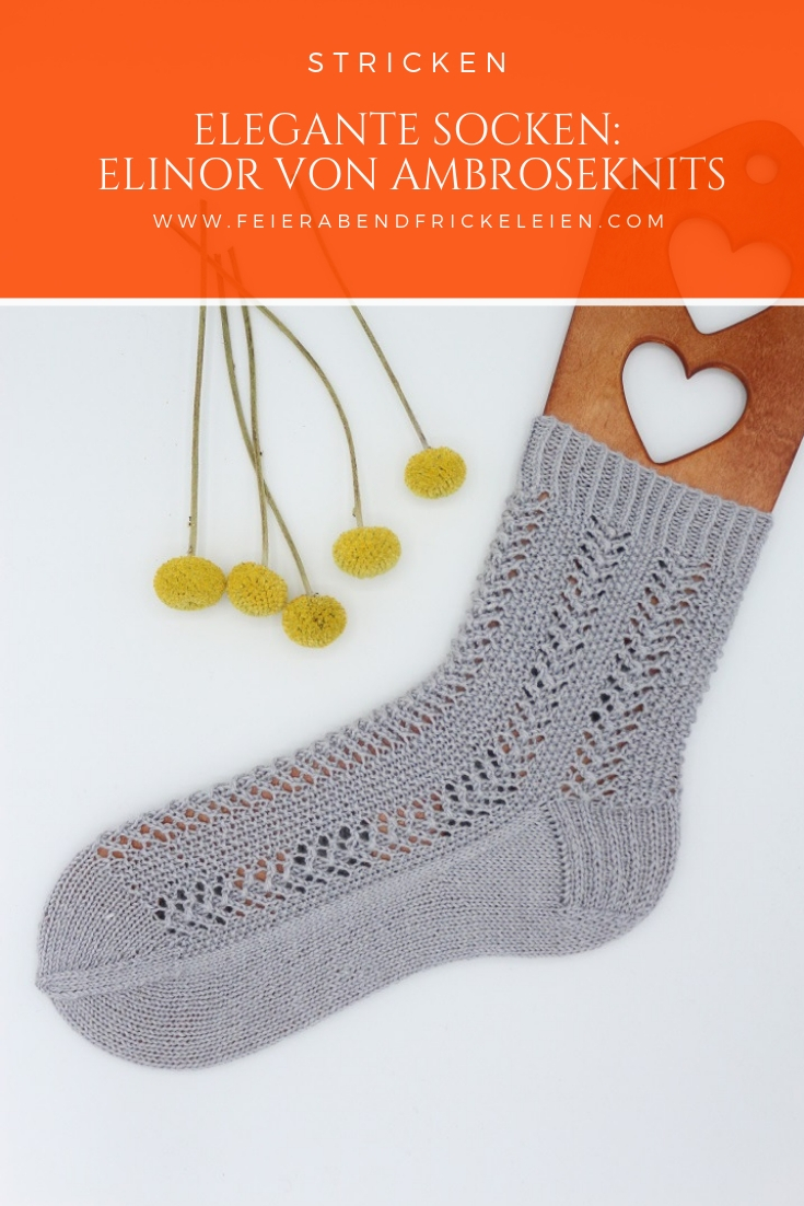 Gestrickte Socken Elinor Socks (14)