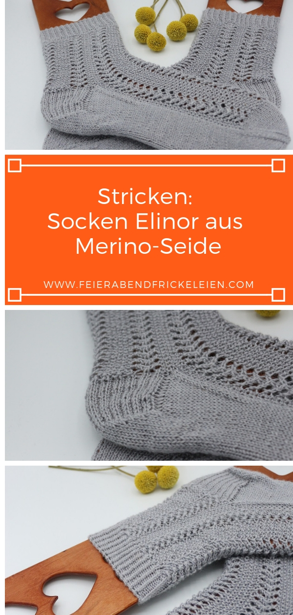 Gestrickte Socken Elinor Socks (15)