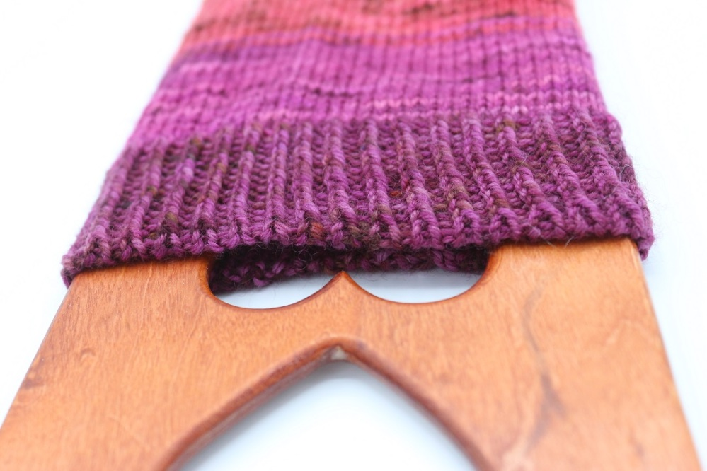 Toe Up Regenbogen Socken (15)