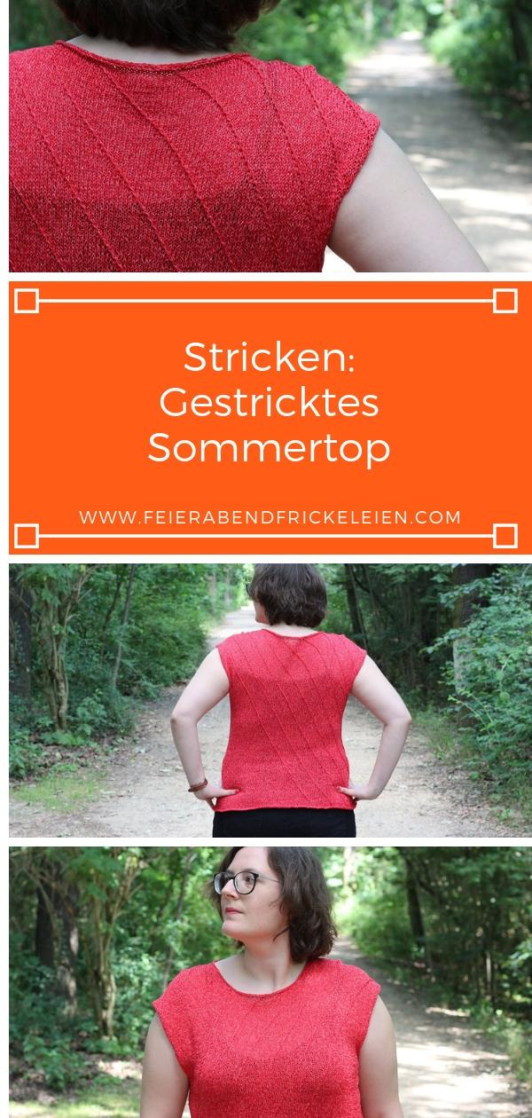 Gestricktes Sommertop (12)
