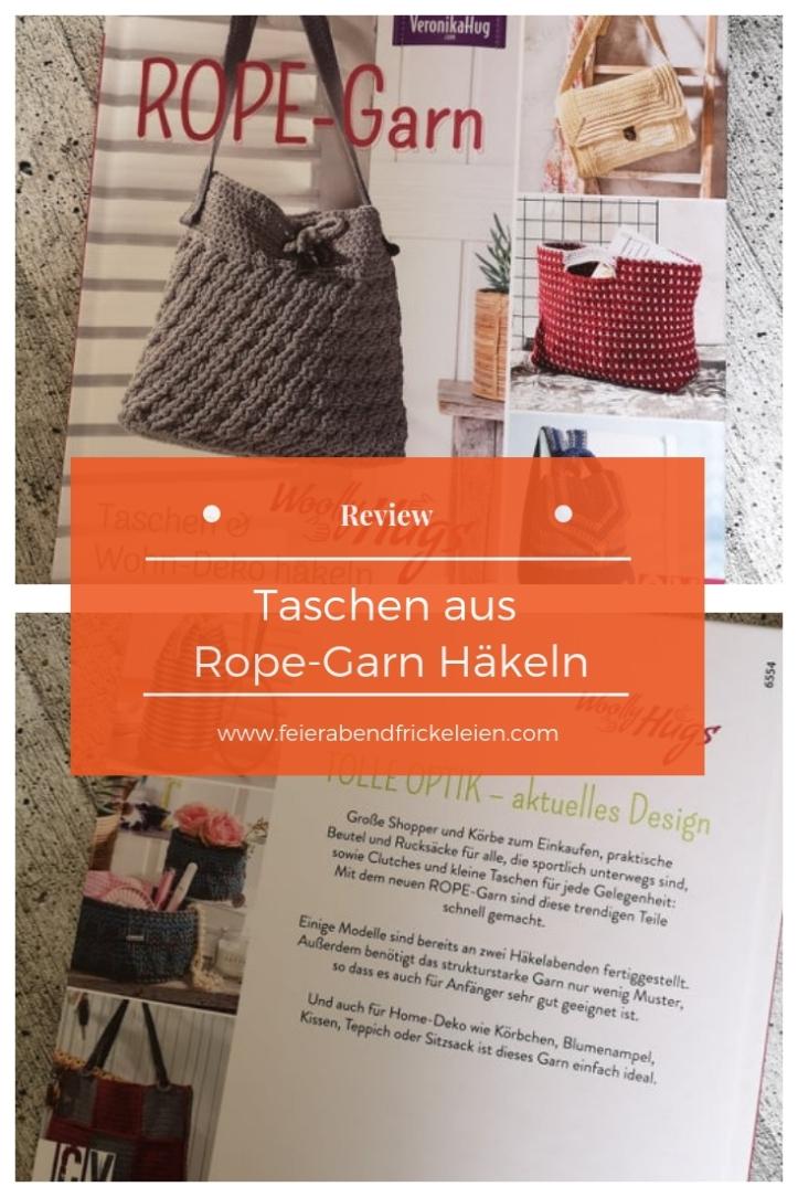 Taschen häkeln Rope Garn (1)