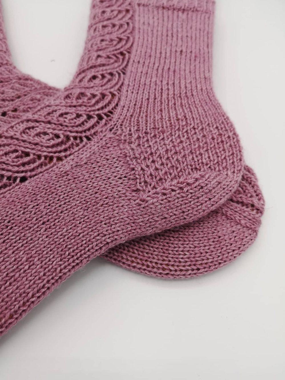 Finnische Socken stricken (10)