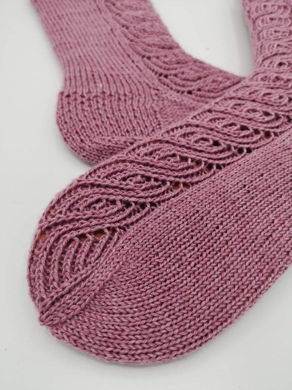 Finnische Socken stricken (2)