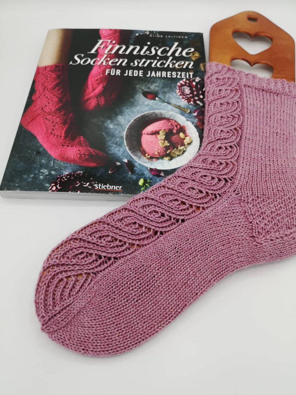 Finnische Socken stricken (6)