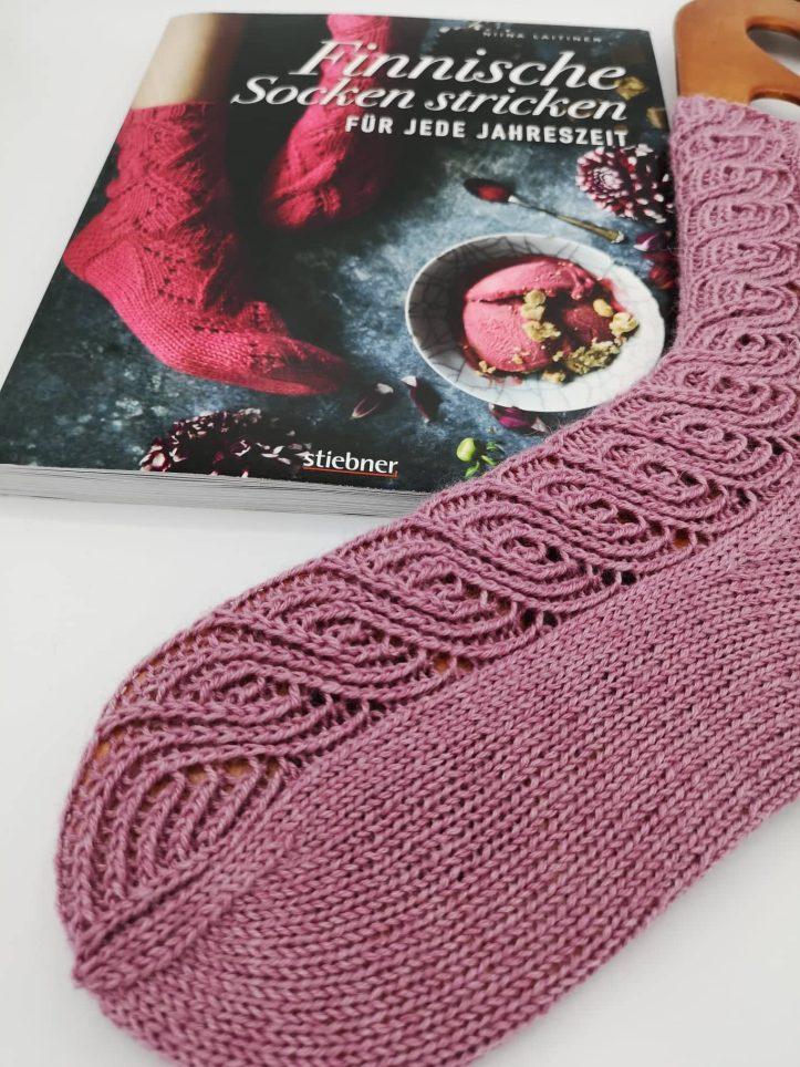 Finnische Socken stricken (7)