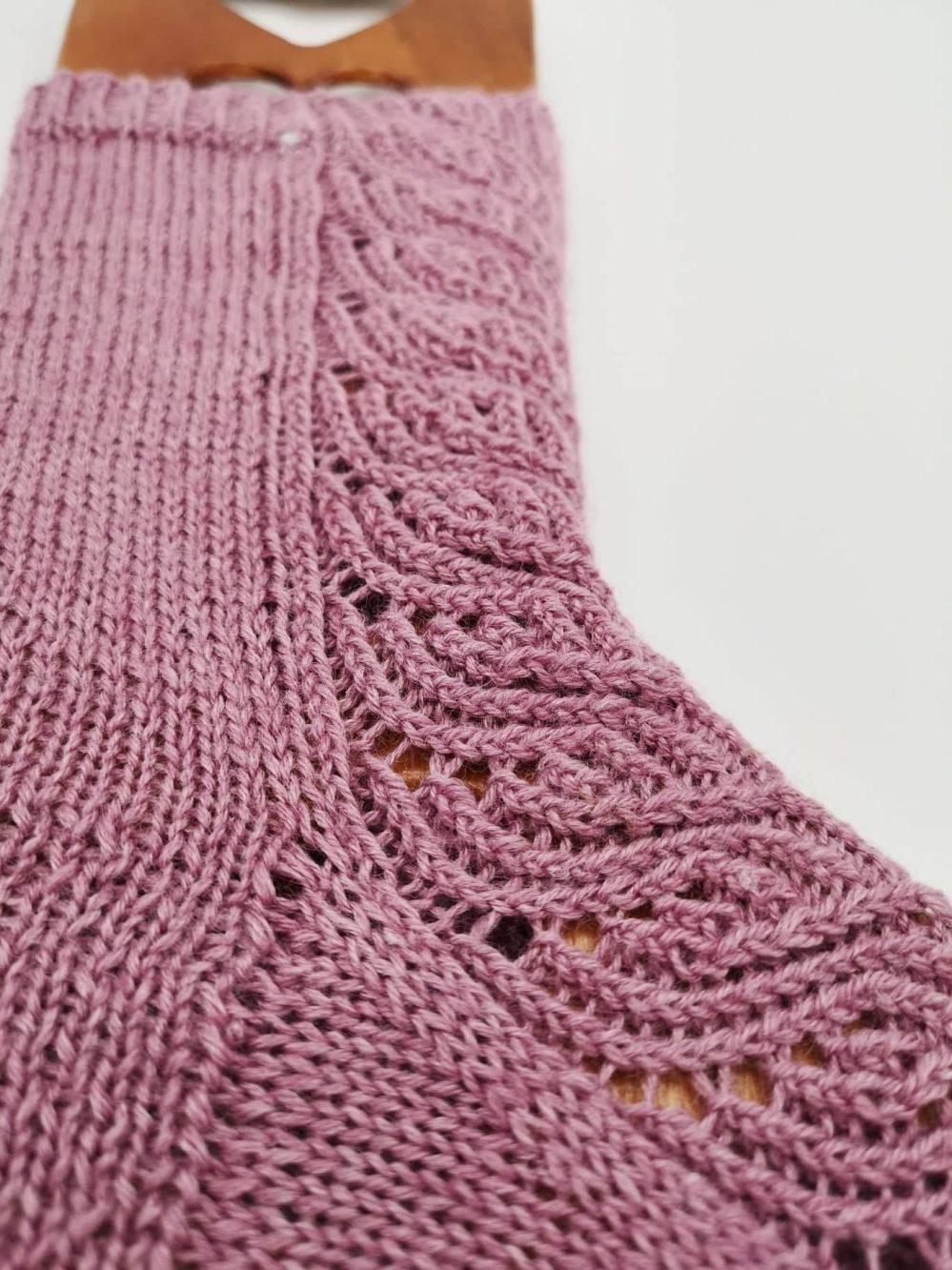 Finnische Socken stricken (8)