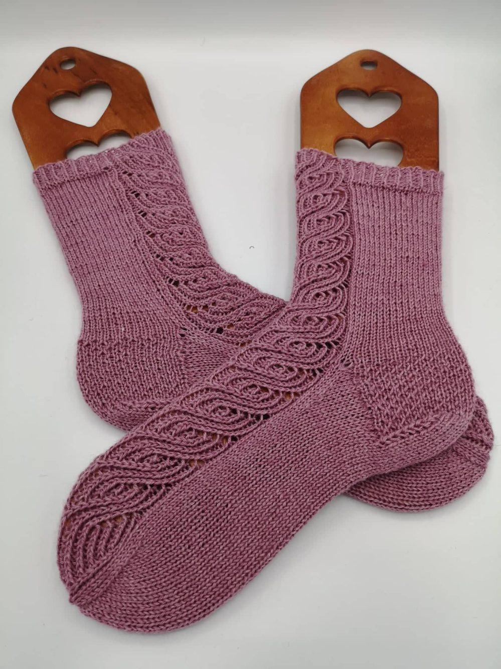 Finnische Socken stricken (9)