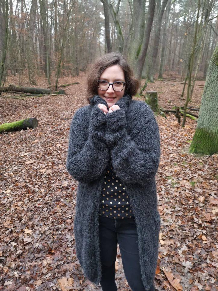 Sttickmantel Garn Felloptik (10)