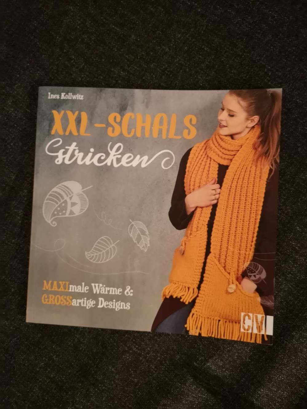 XXL Schals stricken Ines Kollwitz (7)