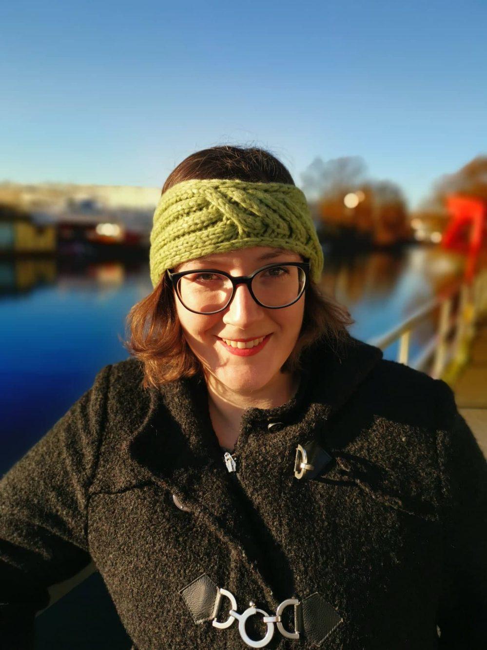 Gestricktes Stirnband Querdenker Tanja Steinbach (3)