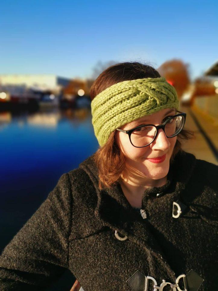 Gestricktes Stirnband Querdenker Tanja Steinbach (4)