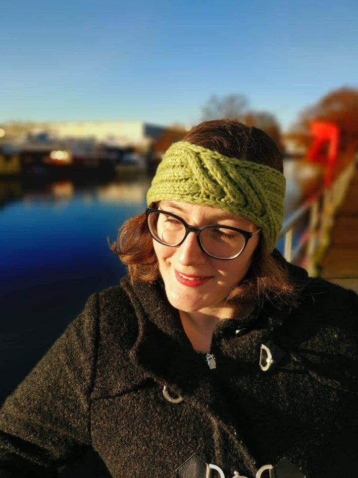 Gestricktes Stirnband Querdenker Tanja Steinbach (5)