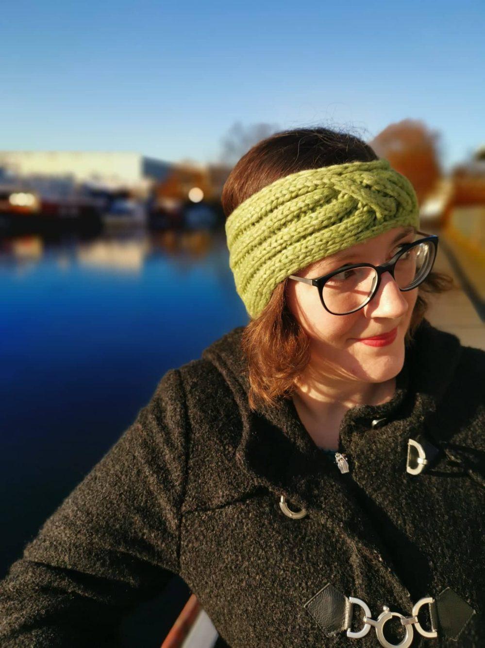 Gestricktes Stirnband Querdenker Tanja Steinbach (6)