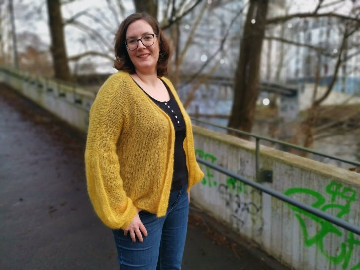 Lotte Cardigan stricken Imke von Nathusius