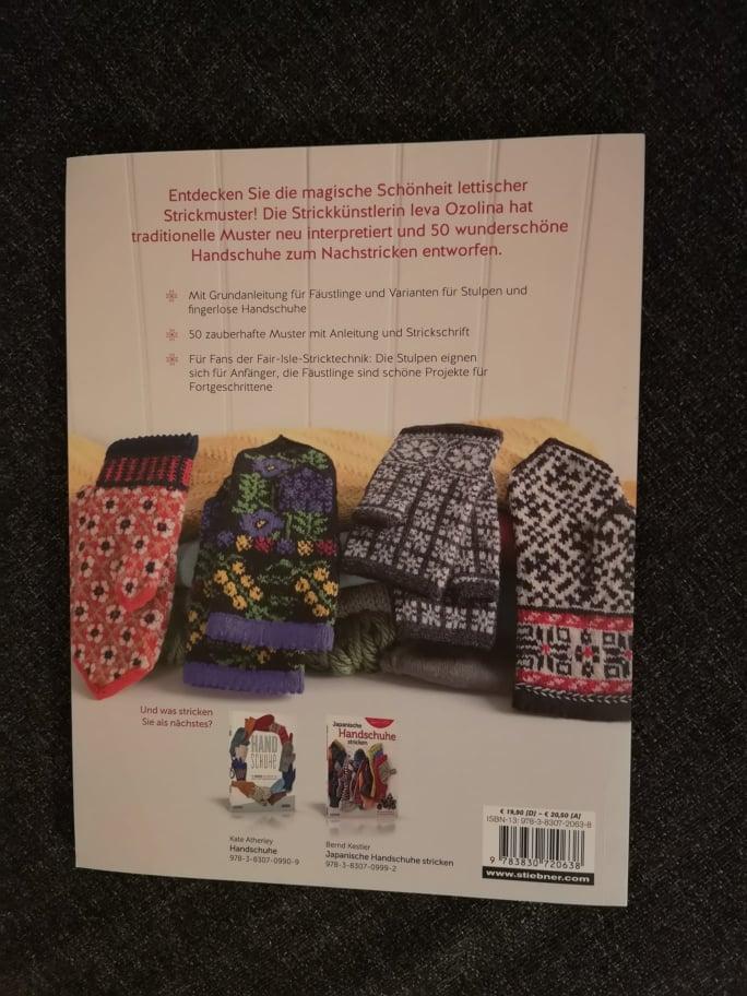 Rezension Lettisch stricken Handschuhe Stulpen (7)
