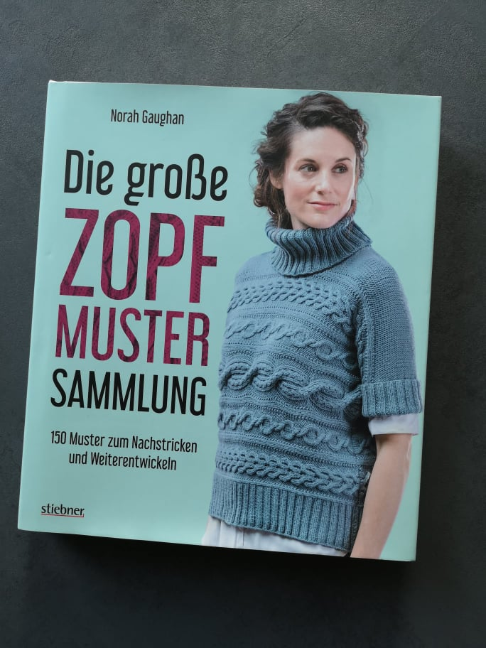 Rezension Zopfmuster stricken Norah Gaughan 1
