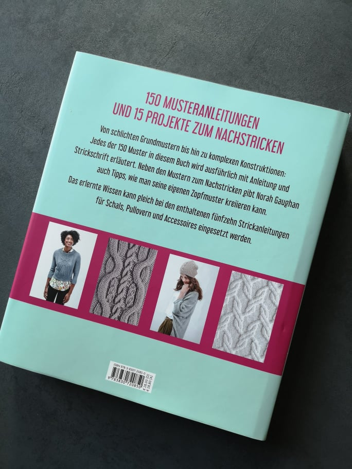 Rezension Zopfmuster stricken Norah Gaughan 2