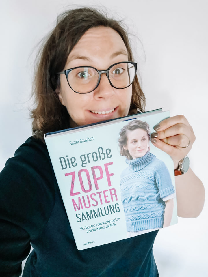 Rezension Zopfmuster stricken Norah Gaughan